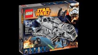 имперский крейсер-лего звездные войны (обзор на набор)!!!