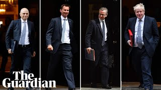 Gambar cover Results from latest round of Conservative leadership contest