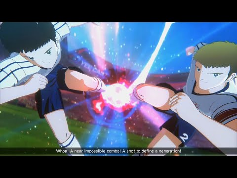 Captain Tsubasa: Rise Of New Champions - New England Vs Brazil #6 |