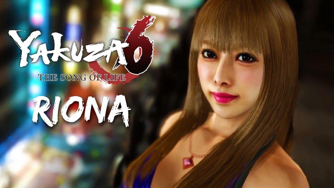 Yakuza 6 Hostess Romance: Riona (ENGLISH) - YouTube