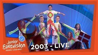 Dzintars Cica - Dzintars Cica - Latvia - 2003 Junior Eurovision Song Contest