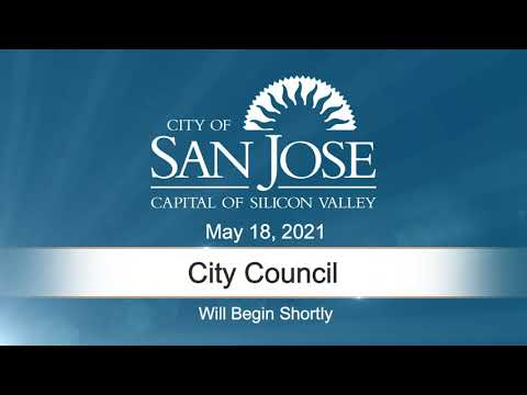 MAY 18, 2021 | City Council, Afternoon Session