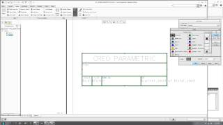 Creo Tutorial - Creating Drawing Template/Format with Title Block and Printing Fix