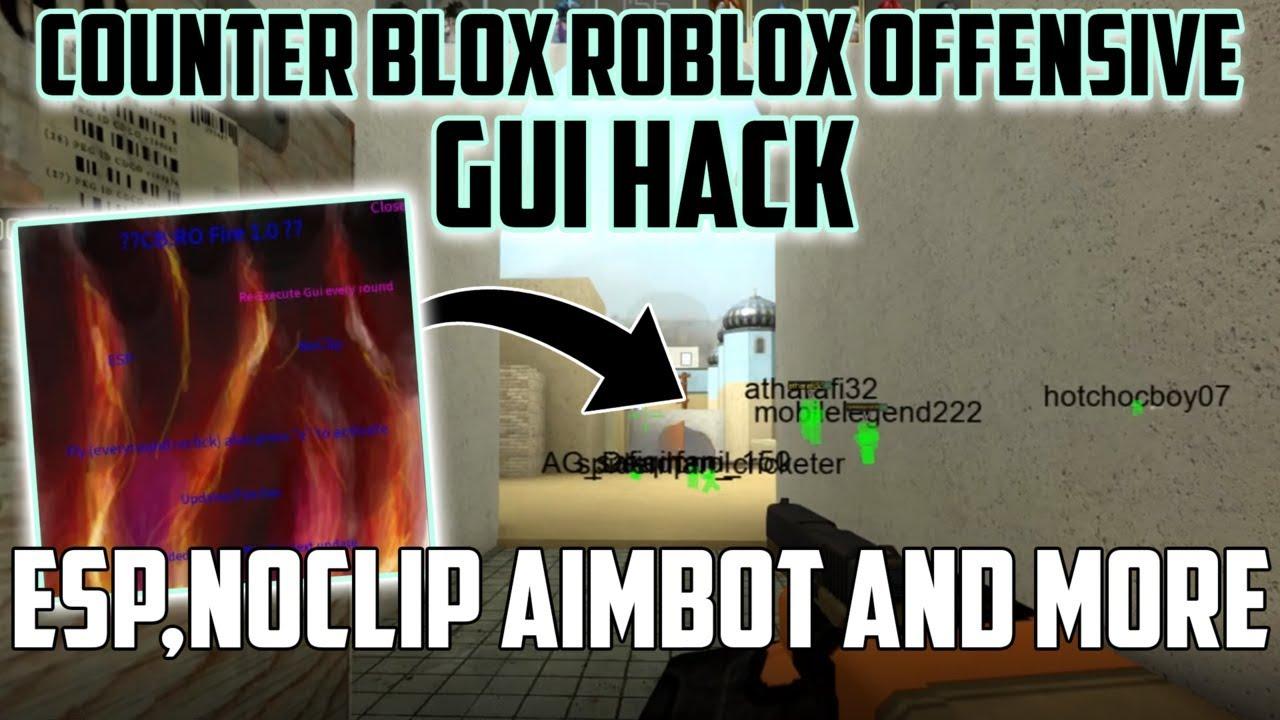 New Roblox Hack Counter Blox Ro Gui Esp Aimbot Noclip