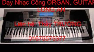 """Nửa Vầng Trăng - Quang Lê """" Đào Tạo Nhạc Công Organ, Guitar  - Thầy TRƯỜNG 01675575377"""