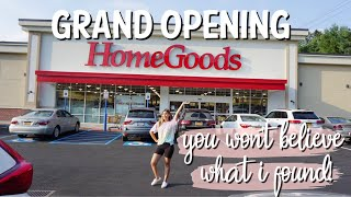 HOMEGOODS GRAND OPENING SHOP WITH ME | YOU HAVE TO SEE WHAT I FOUND!  GINGER JARS + GLAM HOME DECOR