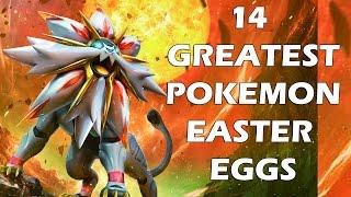 14 greatest pokemon easter eggs and secrets