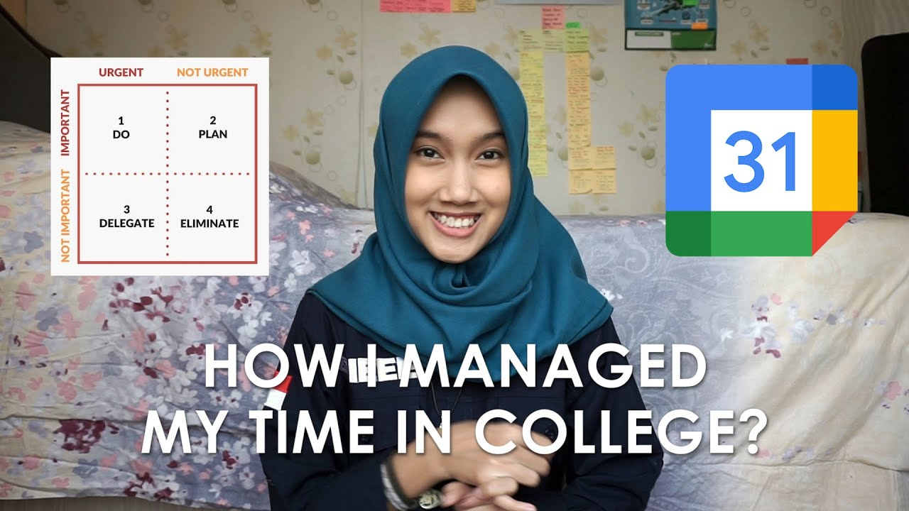 How I Managed My Time in College? | Bahasa Indonesia Subtitle