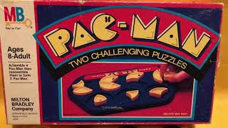 Pac Man Puzzle Game Milton Bradley 1980s 80s 80sThen80sNow 80sThen 80sNow
