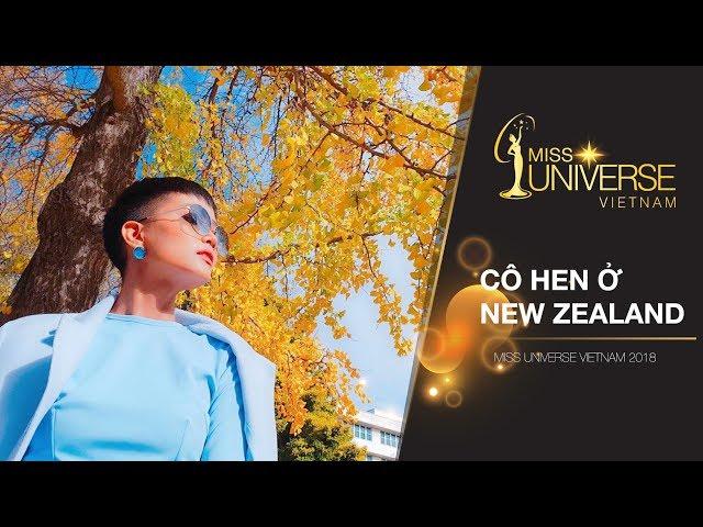 Hoa hậu H'Hen Niê khám phá New Zealand | Miss Universe Vietnam