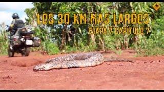 Vuelta al Mundo en Moto | Los 30 Km más largos (Subt Eng) #7-7. Charly Sinewan
