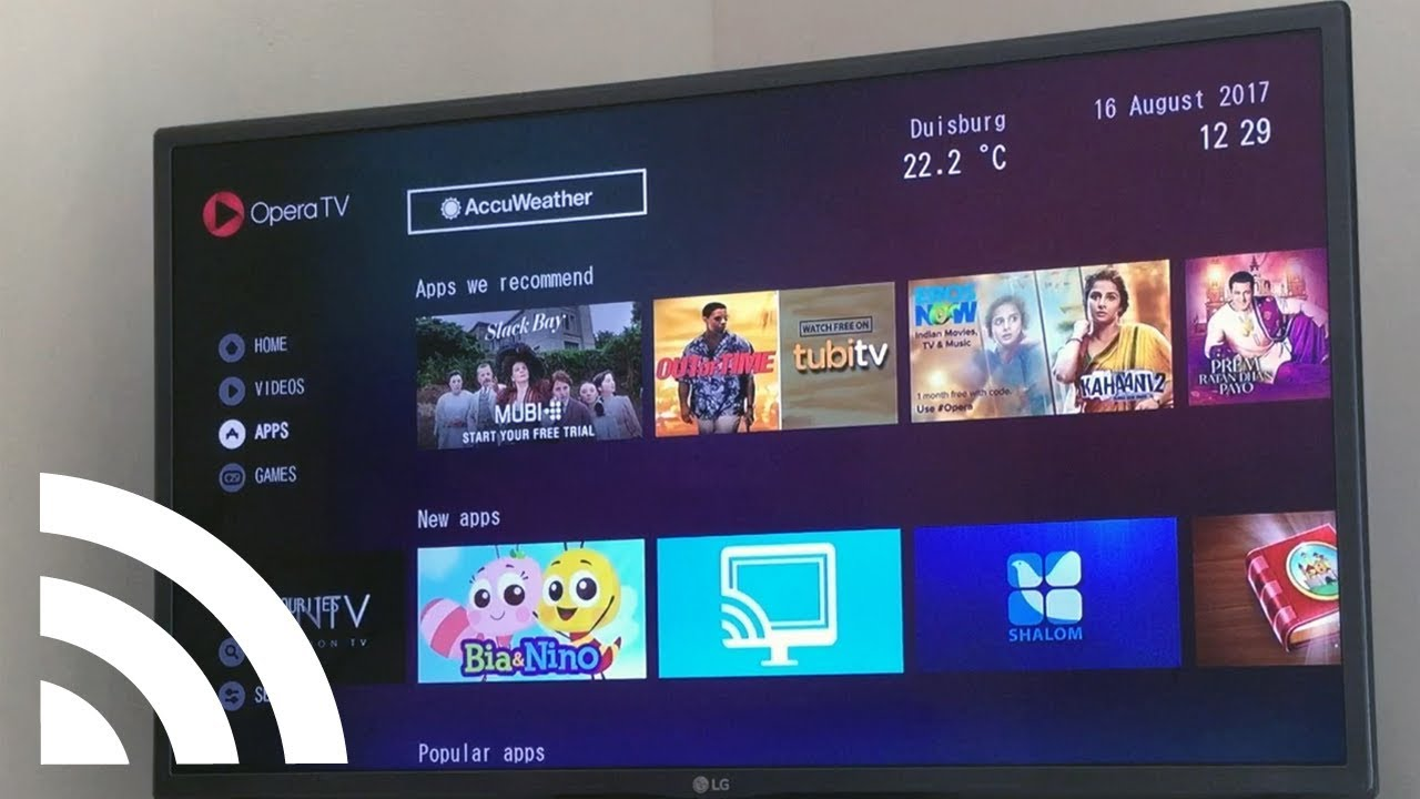 How to: Stream videos to Sony TV, Sharp TV, Hisense TV, Vestel TV, Samsung  Blu-ray, TiVo with VEWD