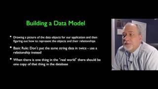Data Modeling - Building a Data Model (Part 1)