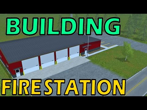 Farming simulator 17 building fire station 1979 on go drama for Online house builder simulator