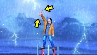 GTA 5 - Can You Get STRUCK by Lightning?