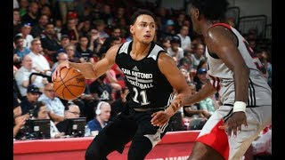 Full highlights: san antonio spurs vs portland trail blazers mgm resorts nba summer league | july 11