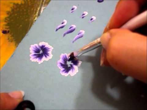 Tecnica One stroke : Pennelli,Sfumature, Rose [2 Parte]