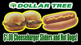$1.00 Sliders and Dogs! - Dollar Tree Gems? - WHAT ARE WE EATING?? - The Wolfe Pit