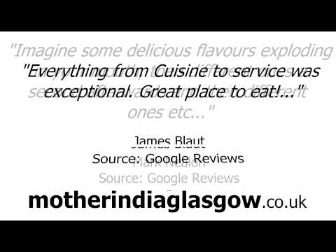 Glasgow Restaurants - REVIEWS - Mother India's Cafe