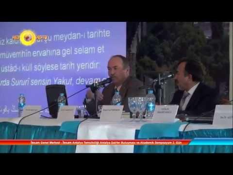İlesam Genel Merkezi ve İlesam Temsilciliği Antalya Şairler Buluşması ve Akademik Sempozyum 2. Gün