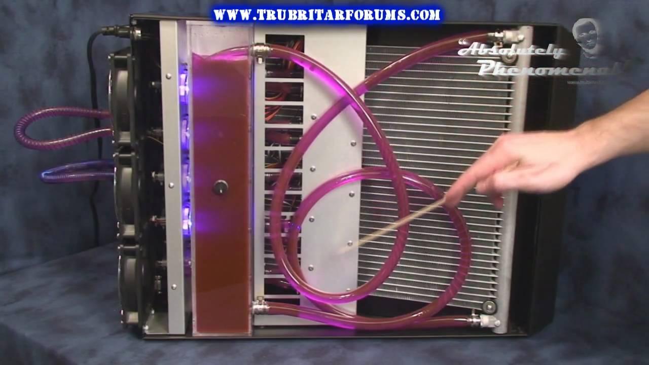 Hd Koolance Erm 3k4u5 Liquid Cooling System Youtube