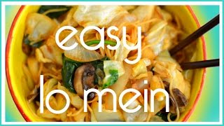 Fast & Easy Lo Mein Recipe - Veggie Take Out Hack For Cheap