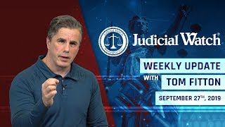 Judicial Watch ((LIVE)) STOP the Coup Against Trump! NEW Lawsuit on Biden/Ukraine Scandal, NEW FBI-D