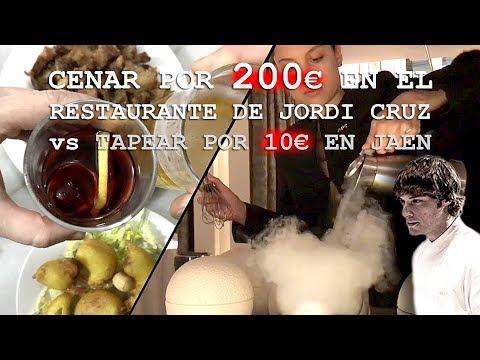 RESTAURANTE 3 ESTRELLAS MICHELIN vs BAR DE TAPAS   ABaC de Jordi Cruz vs Taberna Lagartijo