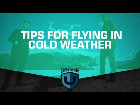 Tips for flying in cold weather