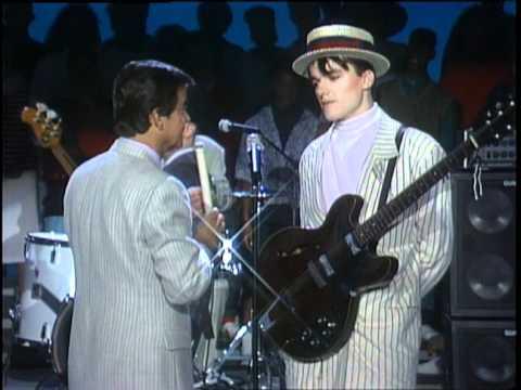 Dick Clark Interviews Blow Monkeys  American Bandstand 1986