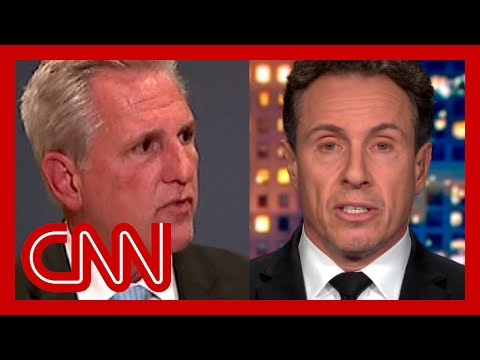 'Boy, the lies': Cuomo reacts GOP leader's QAnon remark House GOP Leader Kevin McCarthy discusses freshman Rep. Marjorie Taylor Greene's (R-GA) statement to GOP about her past inflammatory comments., From YouTubeVideos