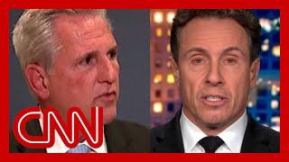 'Boy, the lies': Cuomo reacts GOP leader's QAnon remark
