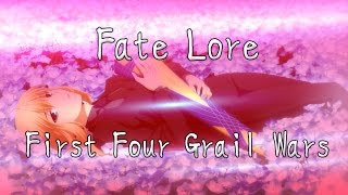 The Lore of Fate/Stay Night Part 1 - First Four Grail Wars