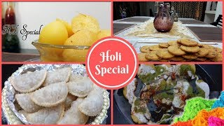 4 Holi special Recipes | Holi Snacks | Holi Sweets | Happy Holi 2019