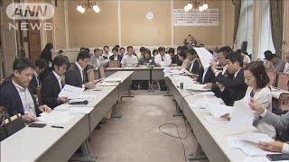 大学入試の民間英語試験 高校生らが延期求め直談判(19/09/28)