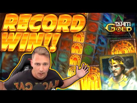 RECORD WIN!! Tahiti Gold BIG WIN - Epic Win On Online Slot From Casinodady
