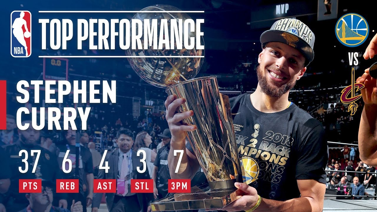 Stephen Curry s 37 Points Helps The Warriors Win The 2018 NBA Title ... de602ef60