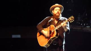 Nathaniel Rateliff I'd Be Waiting solo at Colston Hall Bristol 19/11/16