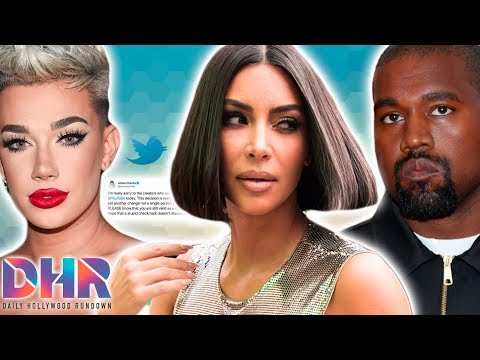 James Charles Speaks Out AGAINST YouTube! Kim Kardashian & Kanye West In TROUBLE With Law! (DHR) thumbnail