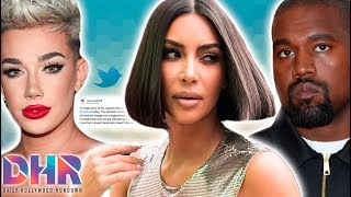 James Charles Speaks Out AGAINST YouTube! Kim Kardashian & Kanye West In TROUBLE With Law! (DHR)