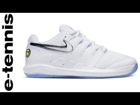 E-tennis - Nike Vapor X Junior Tennis Shoes EN