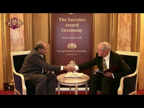 Dr Alok Sharma's Interview at Socrates Award Ceremony - Cannes, France