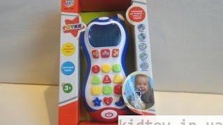 Видеообзор детская игрушка - Joy Toy Телефон Сотик обучающий