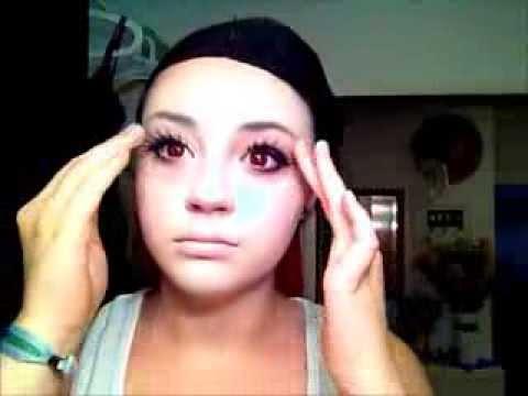 Lucy (Nyu) Make-up Tutorial (elfenlied)