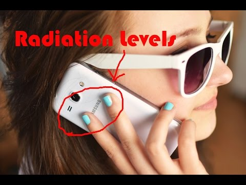 Top 10 Samsung mobile phone radiation levels video