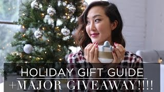 HOLIDAY GIFT GUIDE + MAJOR GIVEAWAY! Thumbnail