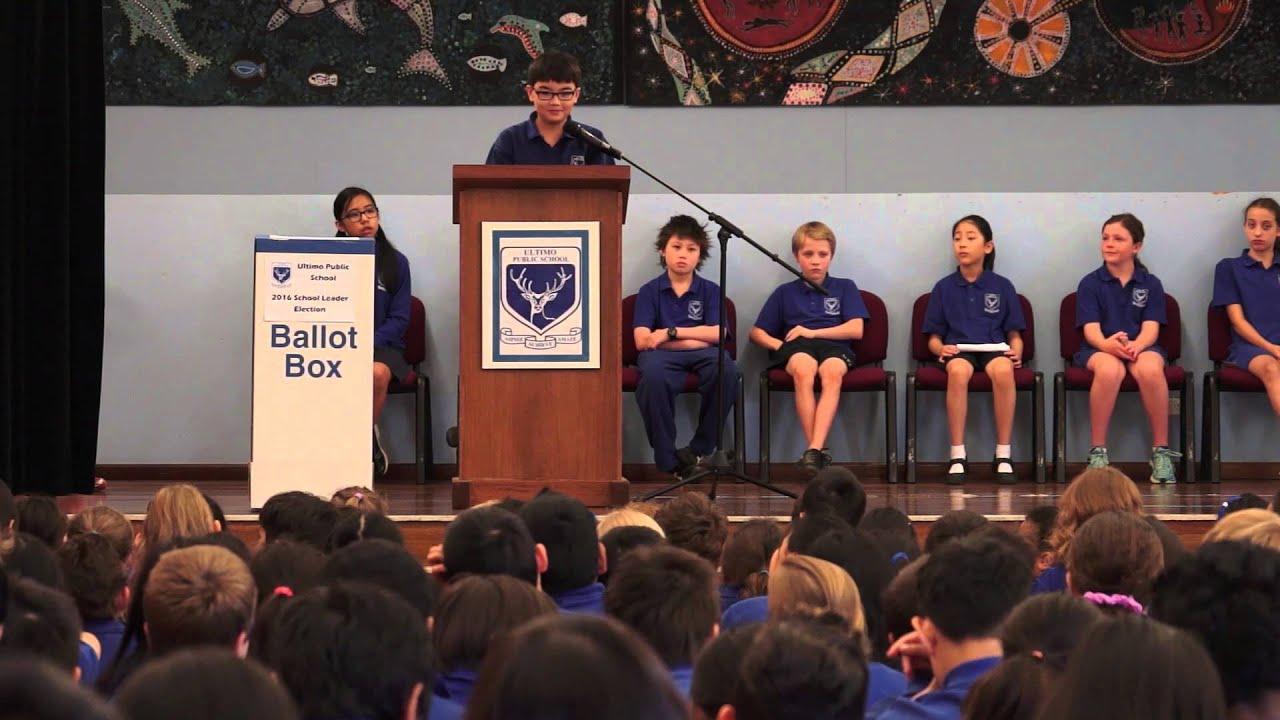 how to start a school leader speech