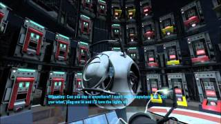 Portal 2: Walkthrough - Part 4 (Chapter 1 Lvl. 5-7) [1080p HD] (PS3/X360/PC) (Gameplay)