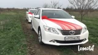 видео прокат авто на свадьбу