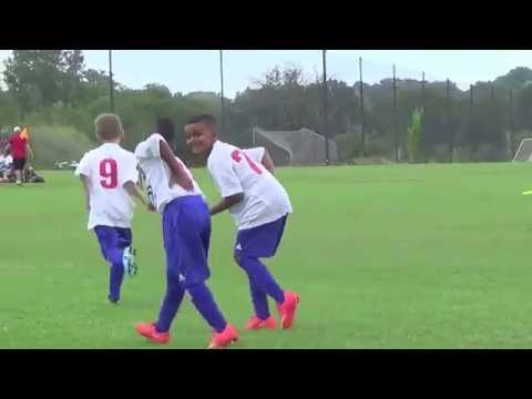 7 yr old FC Dallas Player Youth Brice Jr #11 Samuel Eto'o Celebration